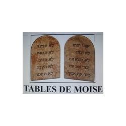 Pentacles Tables de Moïse