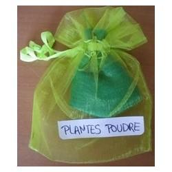 Sachet de plantes en poudre ARGENT
