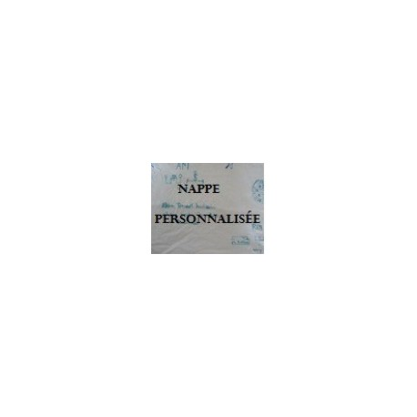 NAPPES personnalisées