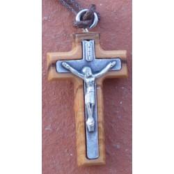 Croix du Christ sur bois