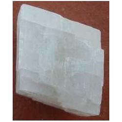 Calcite blanche brute