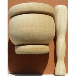Mortier en bois