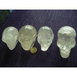 Crâne de cristal de roche