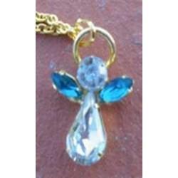 Pendentif Ange en cristal  DECEMBRE